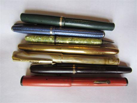 Old Pen Lot: Fountain Pens