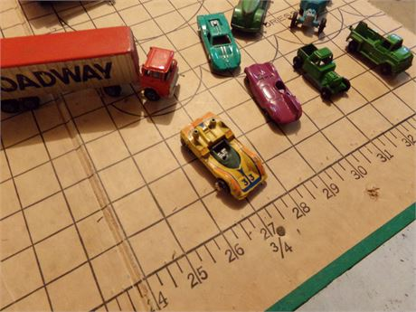 Variety of Small Toy Cars incl Hot Wheels