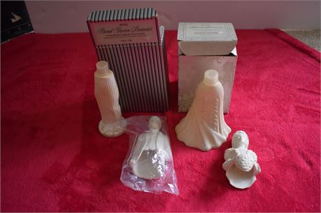 AVON Bride and Groom Cologne/Perfume bottles with boxes