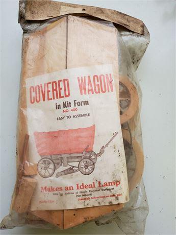 Vintage Covered Wagon Wood Model Kit no.400