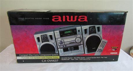 AIWA Portable CD System