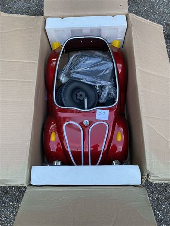 Junior Sportster Push Pedal Car New In Box