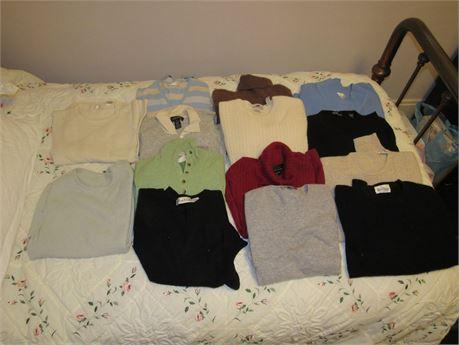 Ladies Cashmere Sweater Lot