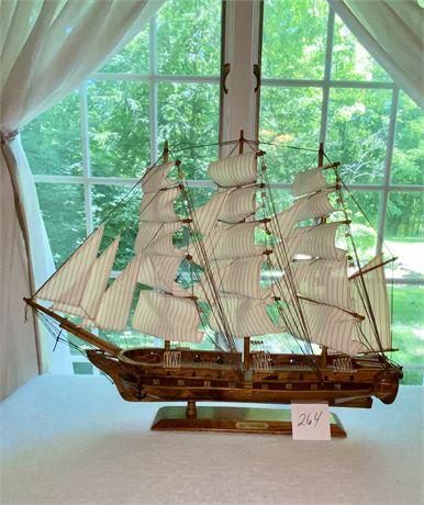 USS Constitution Replica Model
