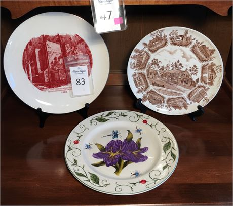 China and Ironstone Collector Plates