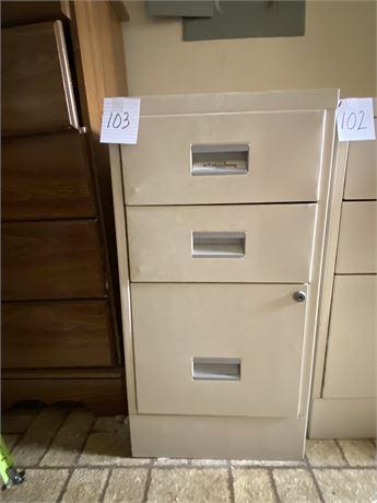 W.P. Johnson Standard Metal Filing Cabinet (3 of 3)