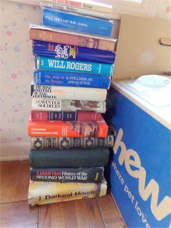 Variety of History Books