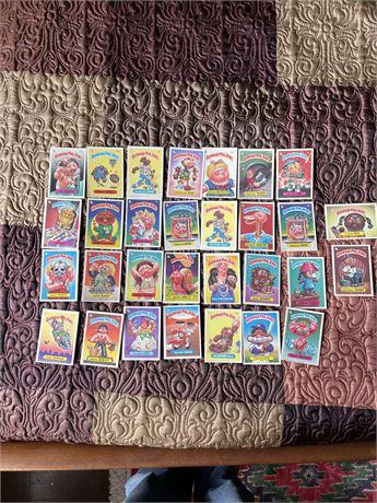 Garbage Pail Kids Card Lot