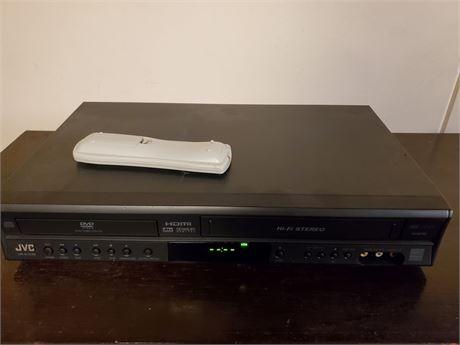 JVC HR-XVC38 DVD VCR Player HDMI Out