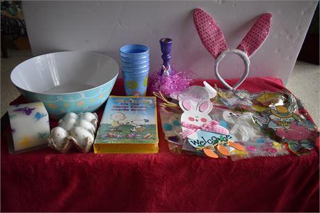 Charlie Brown Easter VHS/Kids Easter Lot