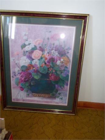 Framed Picture signed Bettie Herbert- Felder