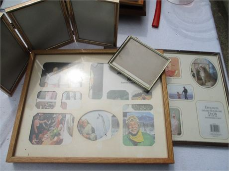 Nice Assorted Miscellaneous Picture Frame Lot