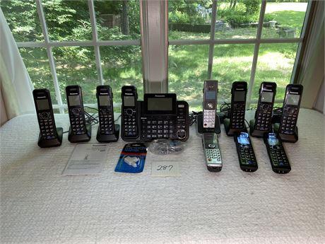 Panasonic and AT&T Cordless Phone Lot