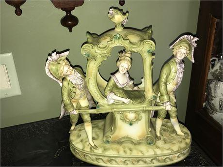 Italian Porcelain Figurine with repair as shown