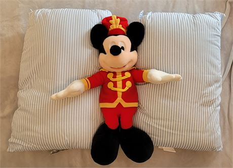Mickey Mouse & 2 New Pillows