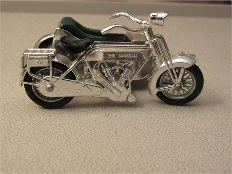 Lesney 1914 Sunbeam Motorcycle w/ side car. Models of Yesteryear