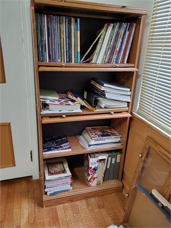 Quilting Book Bonanza + Bookcase