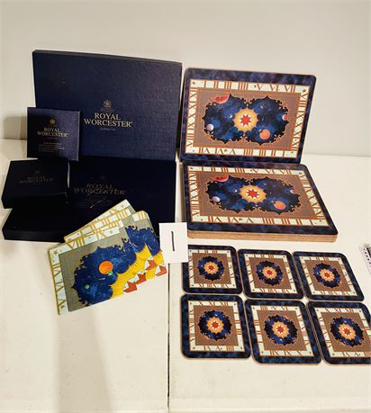 Millennium Collection Placemats and Coasters from Royal Worcester