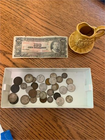 FOREIGN CURRENCY LOT