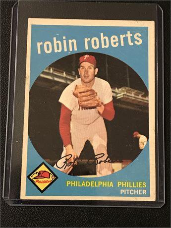 1959 Topps #352 Robin Roberts
