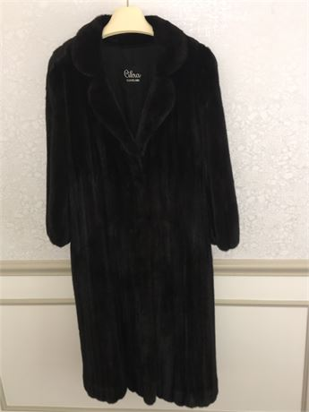 1950's Custom Made Mink by Cikra Cleveland - never- worn with Decorative Tassels