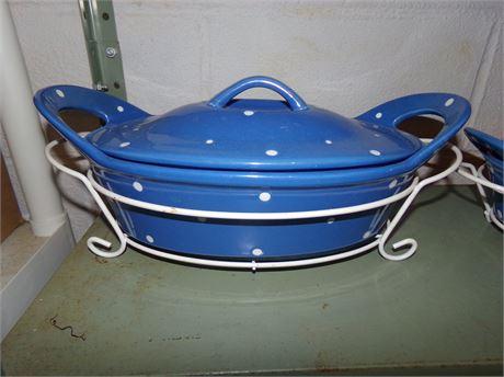 Blue Temptations Ovenware
