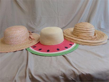 3 Summer Hats
