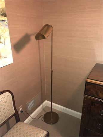 Brass Floor Lamp - Adjustable with Dimmer