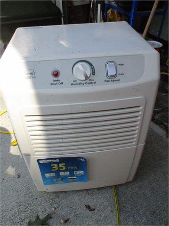 Kenmore Floor Unit Model 54351 35 Pint Dehumidifier