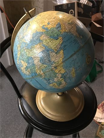 1960's to 1970's Globe