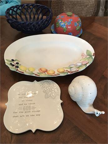 Porcelain Lot - 5 Pieces