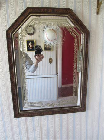 Mirror w/ Fake Baseball Breaking Thru