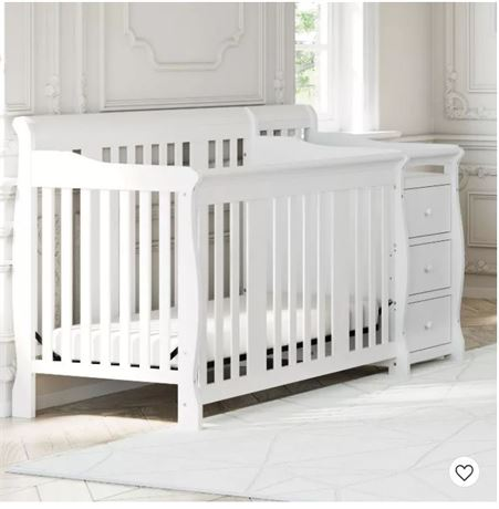 Crib/Changing Table/Bed Combo