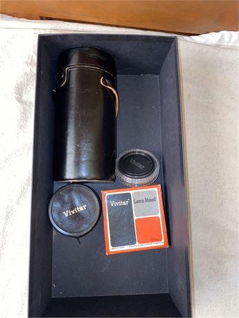 Vivitar Camera Lenses, Camera Hood, Filter