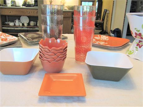 Home Collection by Target Melamine Picnic Ware
