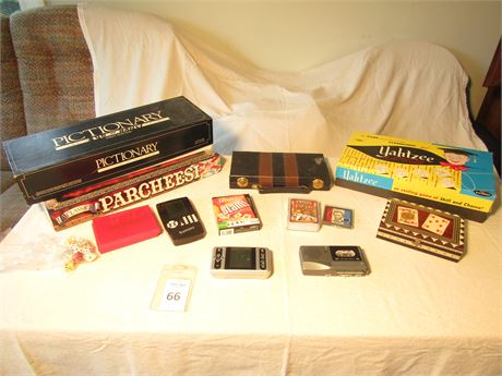 Card Games and Board Games