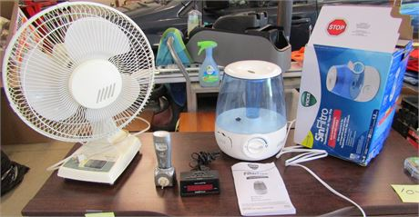 Oscillating Table Fan and more