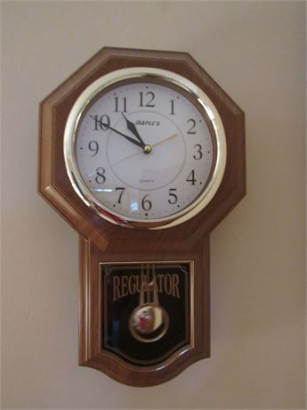 Maple's Regulator Wall Clock
