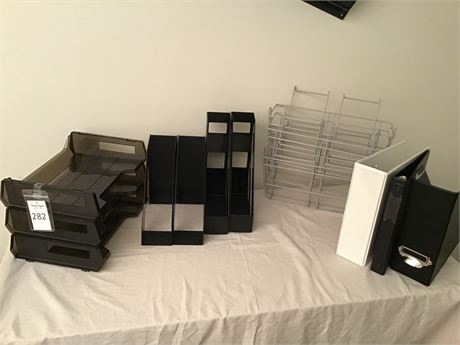 Horizontal Paper Trays, Vertical Folder Organizers, & More