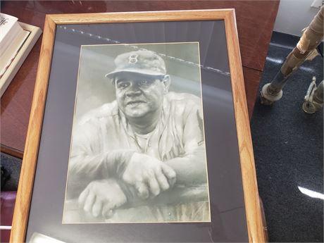 Babe Ruth Drawn by Hainan April 2000