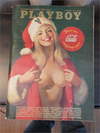 Playboy w/ Coca Cola Ad on Cover