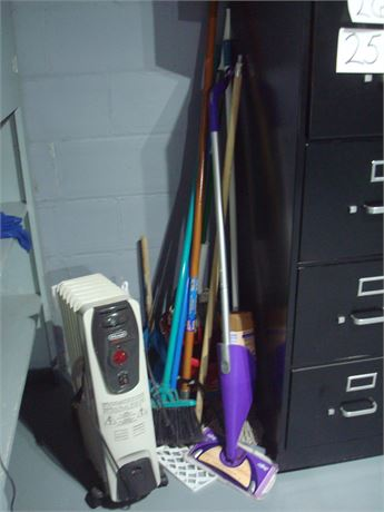 Space Heater & Cleaning Tools