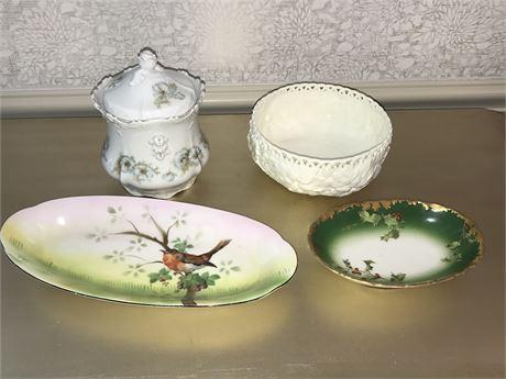 Fine Antique Porcelain Lot including Royal Worcester, Limoges, and Germany