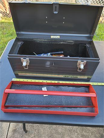 Craftsman Toolbox w/ Assortment of Tools
