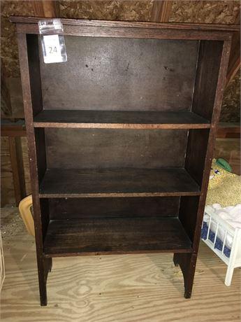 Children's Wood Bookcase