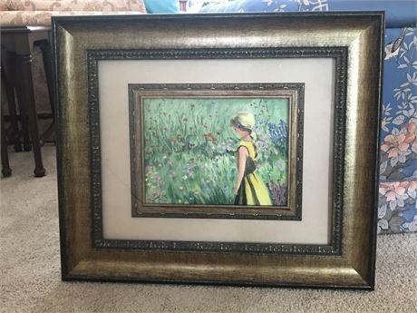 2 of 2 Beautifully Framed Original Watercolor by Doris Jira