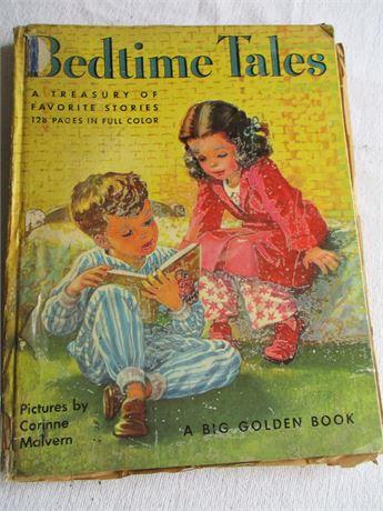 Vintage 1951 Big Golden Book Children's Bedtime Tales