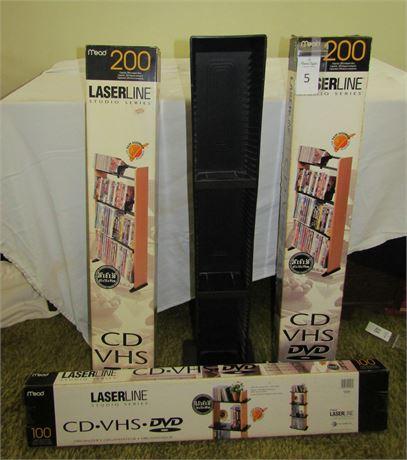 Laserline Studio Series CD-DVD Storage Organizer