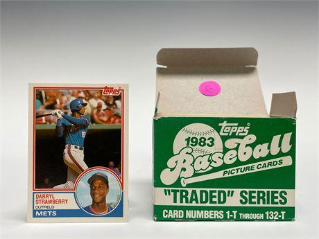 1983 Topps Traded Baseball Card Set