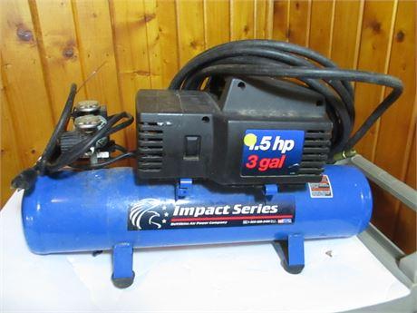 Devilbiss Impact Series 1.5 HP Portable Air Compressor & Tank